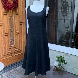 EILEEN FISCHER sleeveless maxi dress. Size Medium